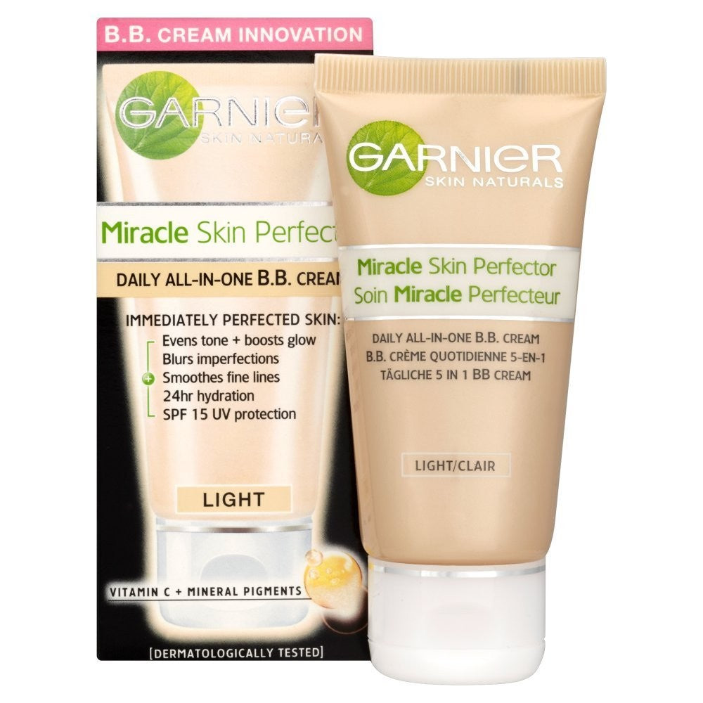 Garnier BB Cream Miracle Skin Perfector 5-In-1 Daily Moisturizer - Classic 50 Ml