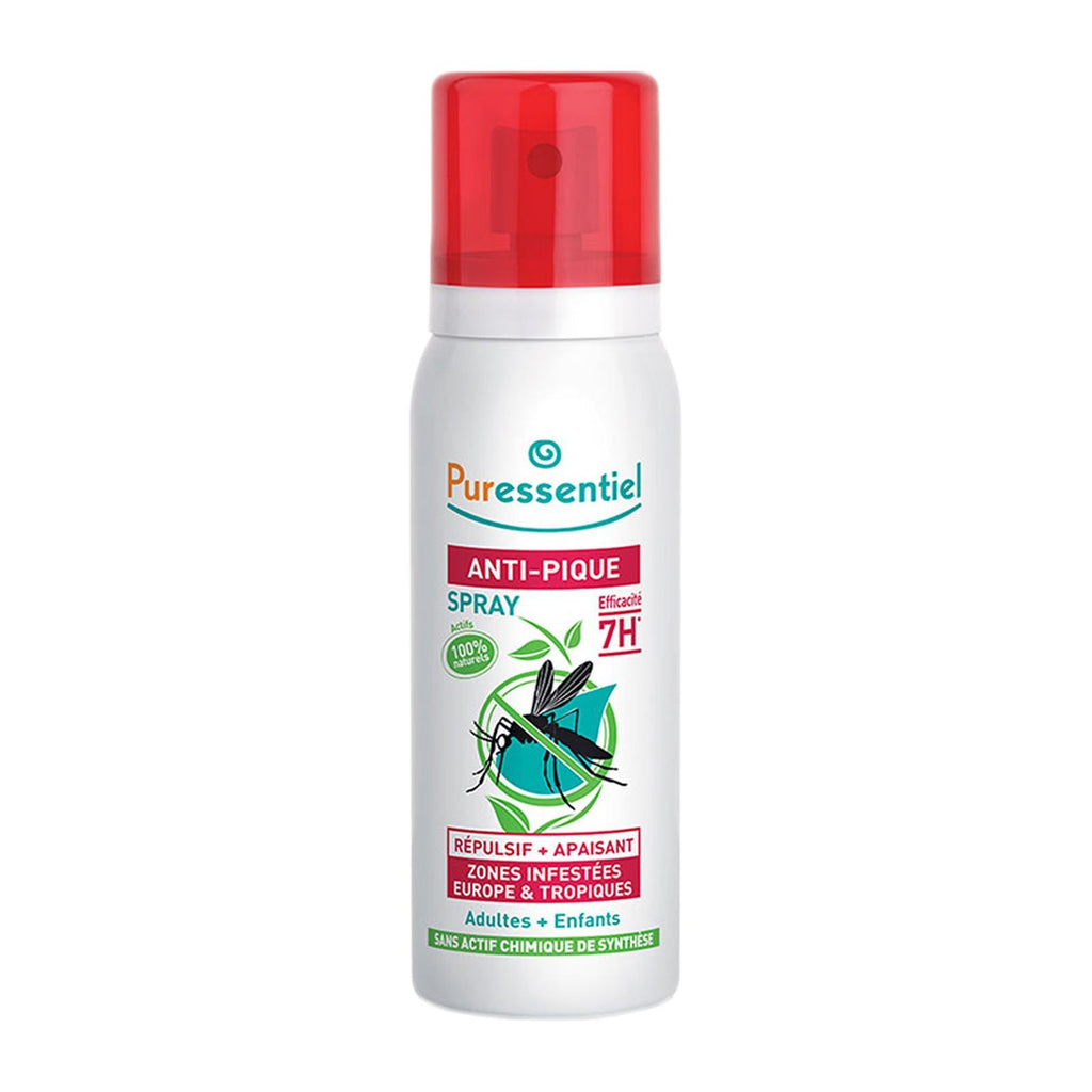 Puressentiel Mosquito Repellent Spray - 7H Protection (Kids & Adults)-75ml