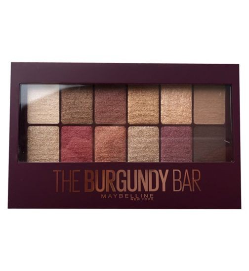 Maybelline Burgundy Bar Eye Shadow Palette