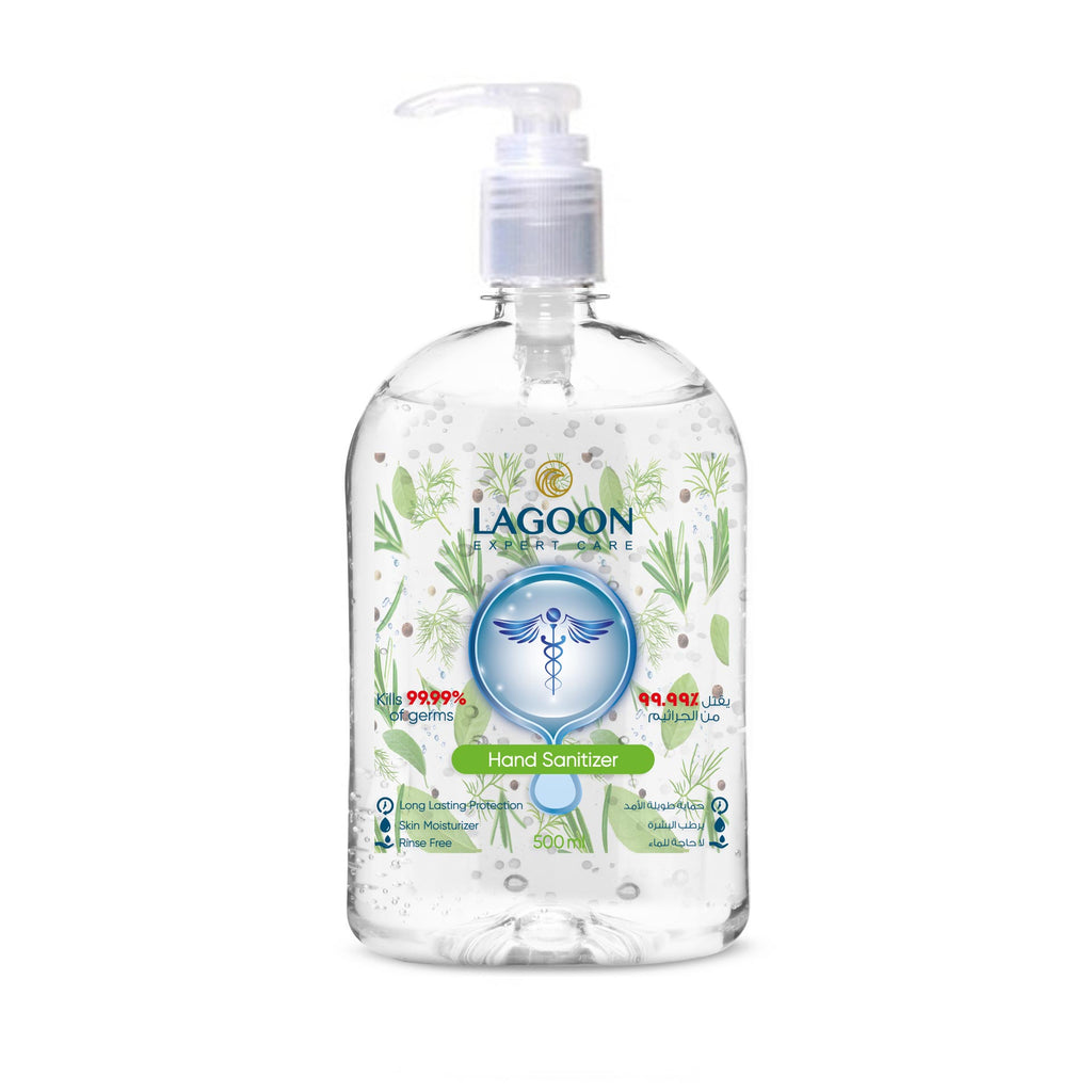 Hand Sanitizer Gel with Pump