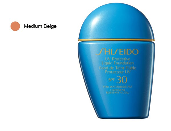 Shiseido Liquid Foundation Protector UV SPF30 Medium Beige