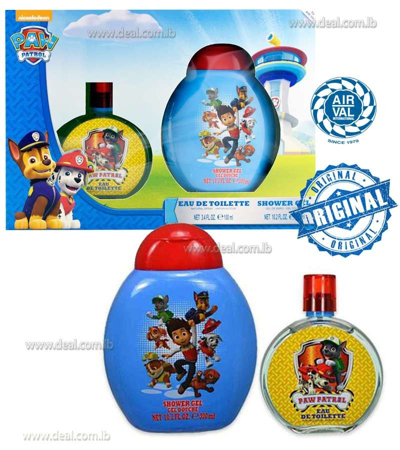 Nickelodeon Paw Patrol Eau De Toilette 100ml & Shower Gel 300ml