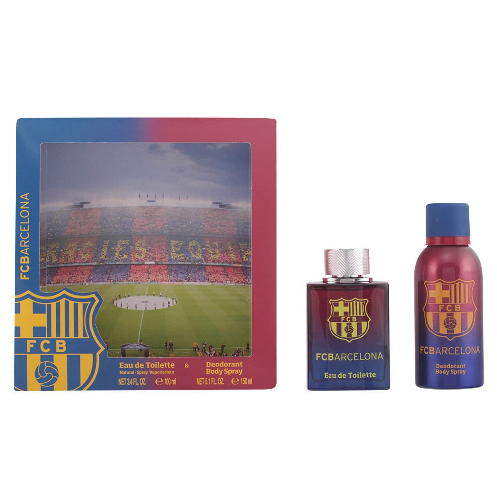 FC Barcelona Eau De Toilette 100ml & Deodorant Body Spray 150ml