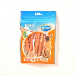 Duvo Bones! Twisted Chicken Jerky Sticks 70g