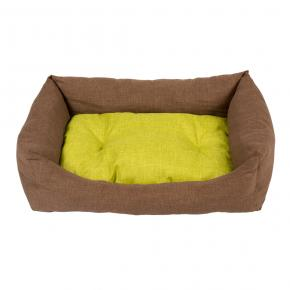 Duvo Bed Rectangular Earth with Pillow