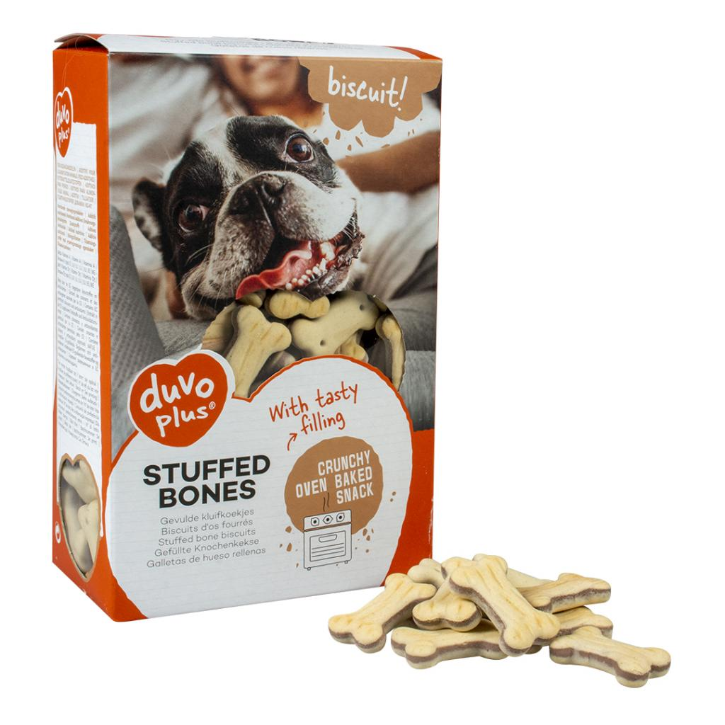 Duvo Stuffed Bones For Dogs 500gr
