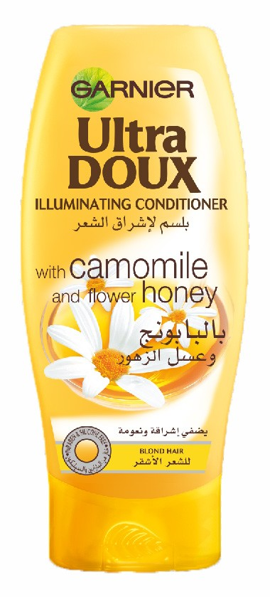 Ultra Doux - with Camomile and Flower Honey - Illuminating Conditioner - 200ML