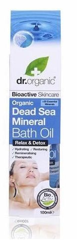 Dr. Organic Dead Sea Minerals Bath Oil