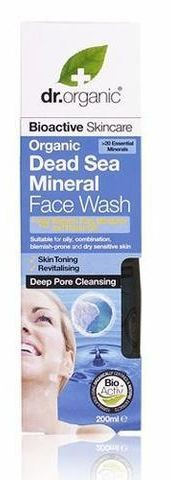 Dr. Organic Dead Sea Minerals Face Wash