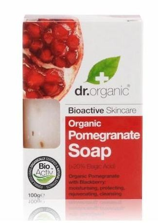 Dr. Organic Pomegranate Soap