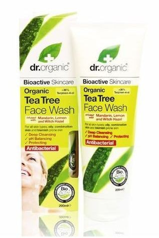 Dr. Organic Tea Tree Face Wash