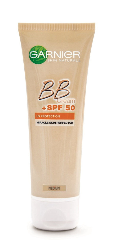 Garnier BB Cream Miracle Skin Perfector 5-IN-1 Daily Moisturizer UV Protection 50ml SPF 50