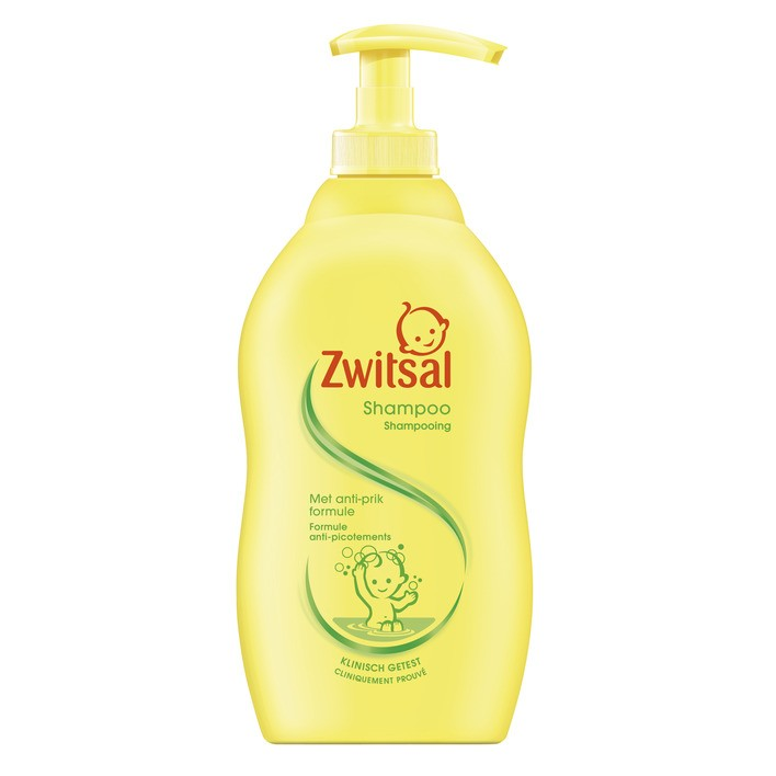 Zwitsal Anti-puncture Baby Shampoo 400ml
