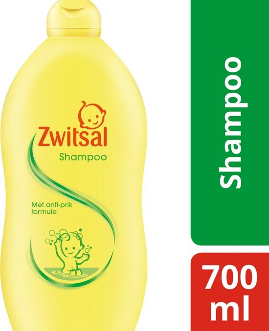 Zwitsal Anti-puncture Baby Shampoo 700ml