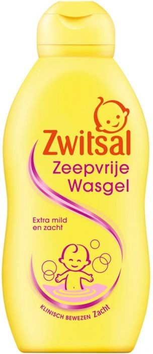 Zwitsal Soap-Free Washing Gel 200ml