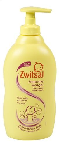 Zwitsal Soap-Free Washing Gel 400ml