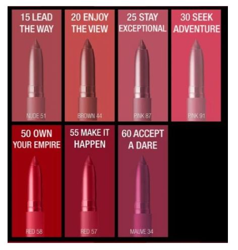 Maybelline SuperStay Ink Matte Crayon Lipstick