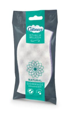 Cotoneve Natural Gommage Exfoliating Body Sponge