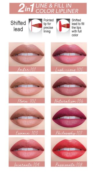 Samoa Love Your Shape Line & Fill Lip Liner