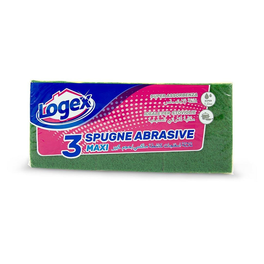 Logex Sponge Cloths 3 Pcs