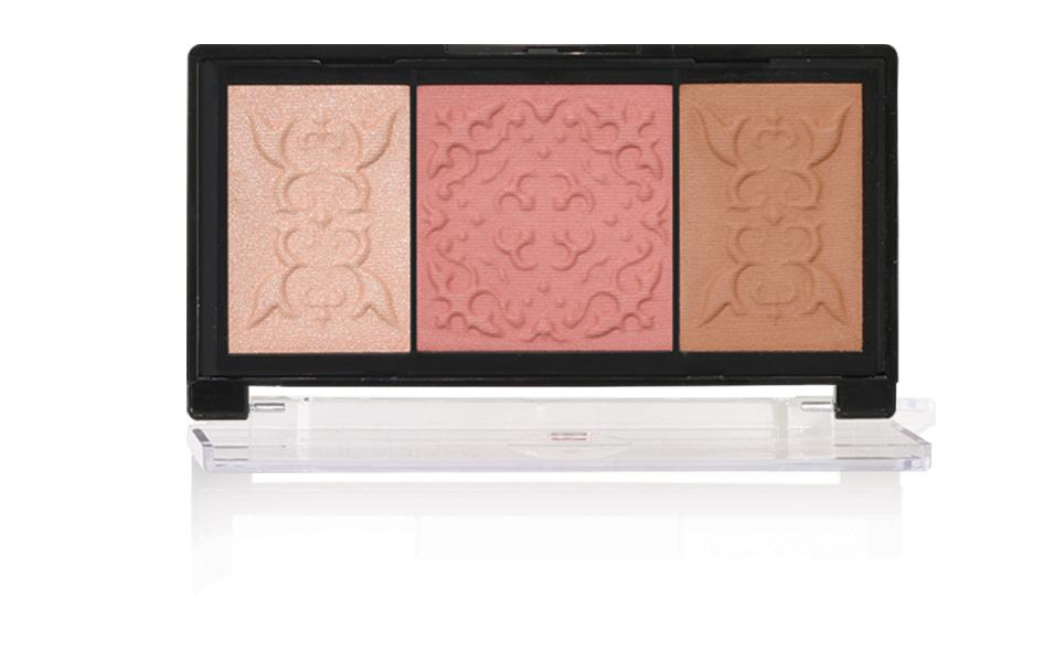 Samoa Blush & Glow Palette Bronzer Blush & Highlighter