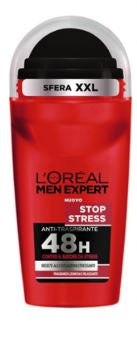 L'Oreal Paris Men Expert Stop Stress Deodorante Anti-Traspirante 48H Roll-On