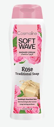 Soft Wave Rose Traditional Soap Shower Cream