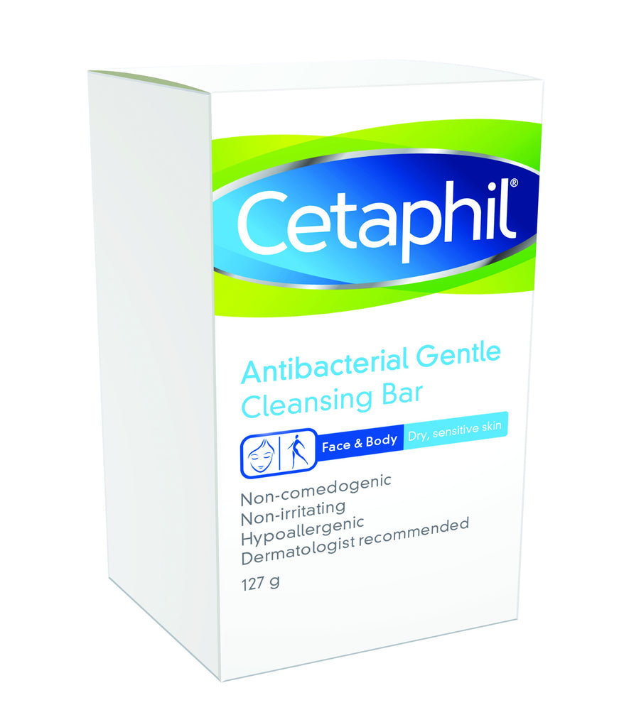 Cetaphil Antibacterial Gentle Cleansing Bar 127g