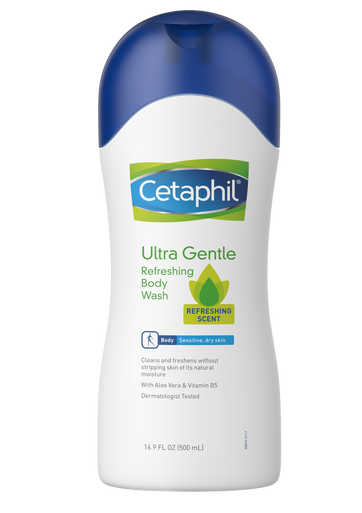 Cetaphil Bodywash Refreshing Scent 500Ml