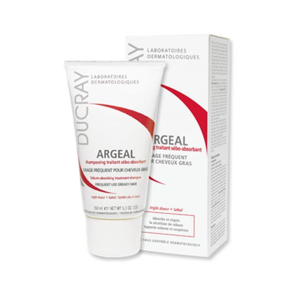 DUCRAY ARGEAL SHAMPOING TRAITANT SEBO-ABSORBANT 150ML