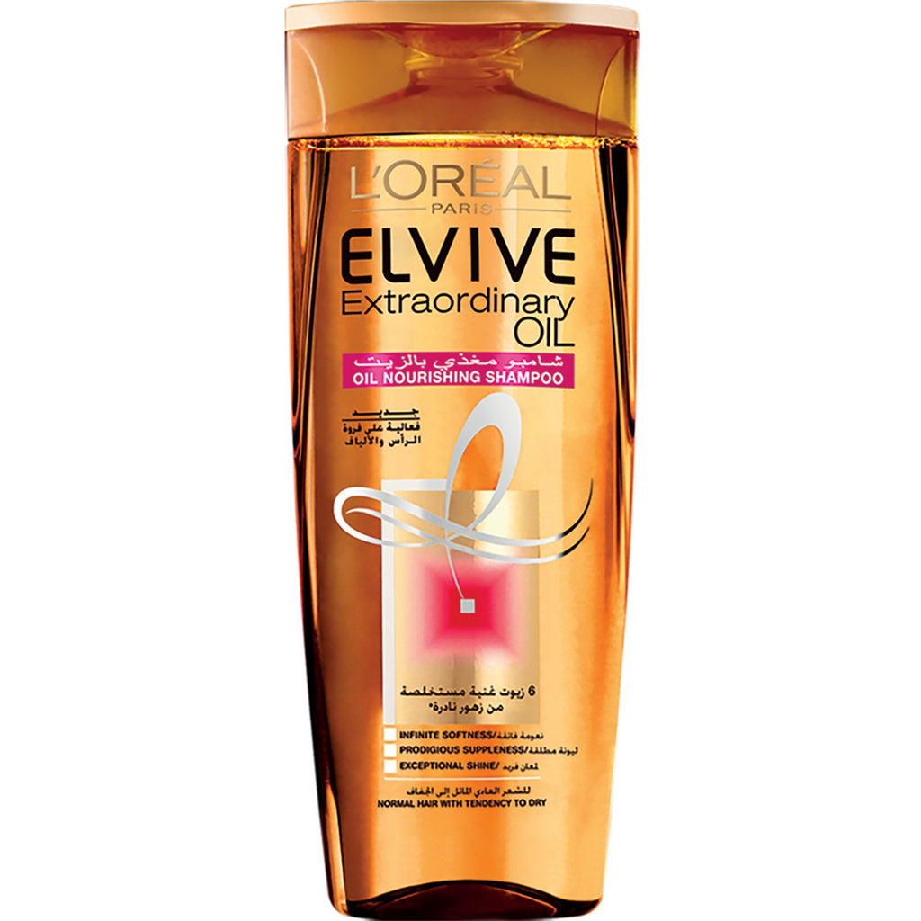 ELVIVE EXTRAORDINARY OIL SHAMPOO - FOR NORMAL HAIR WITH TENDENCY TO DRY