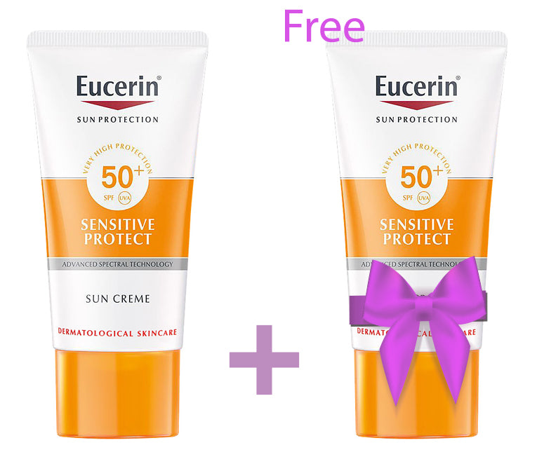 Eucerin Sensitive Sun Cream buy 1 GET 1 FREE
