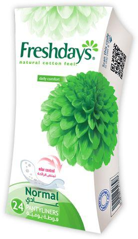 Freshdays  24 normal pantyliners