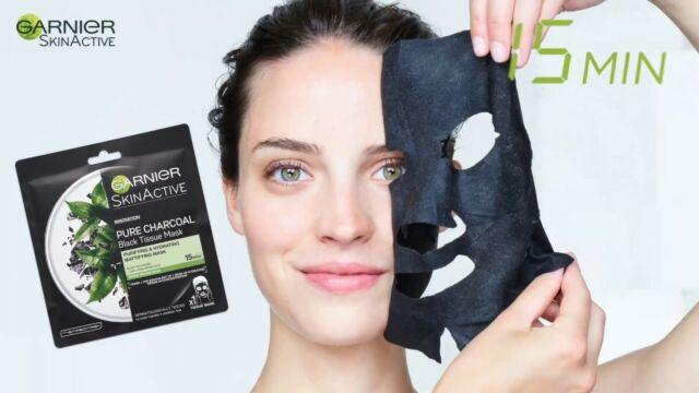 Garnier Skin ActiveE Charcoal Tissue Mask
