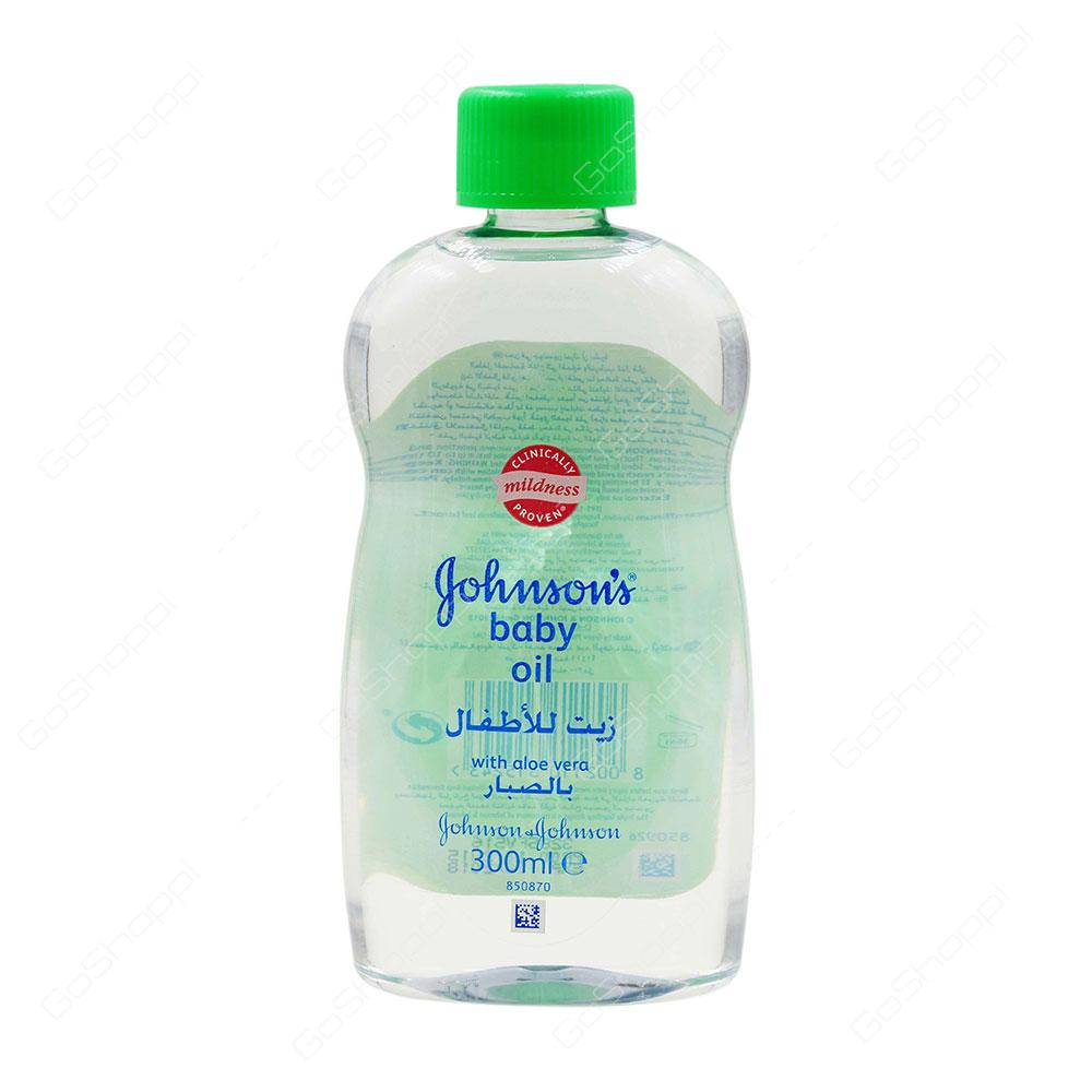 Johnson's Baby Oil Aloe Vera 300 ml