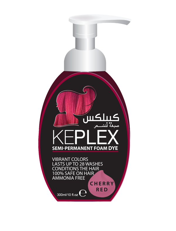 Keplex Foam Cherry Red  300ML