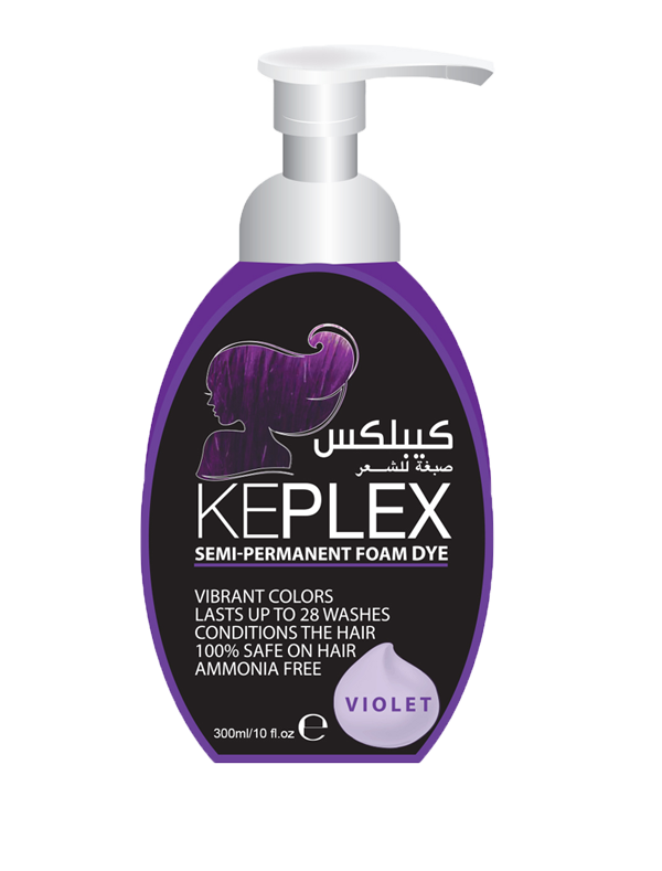 Keplex Foam Violet 300ML