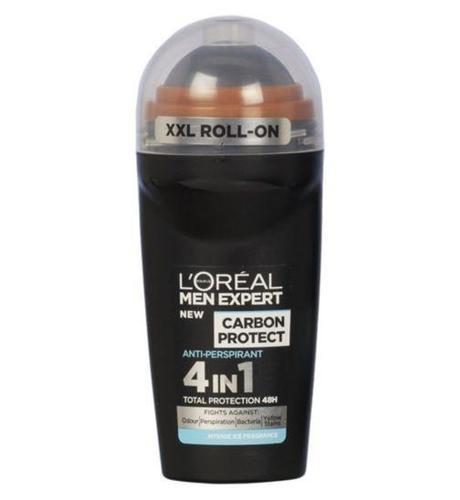 L'Oreal Men Expert Carbon Protect 4 in1 Total Protection 48H - Roll On-MyKady