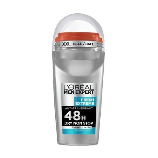 L'Oreal Men Expert Fresh Extreme 48H Dry Non-Stop Deodorant -Roll-On