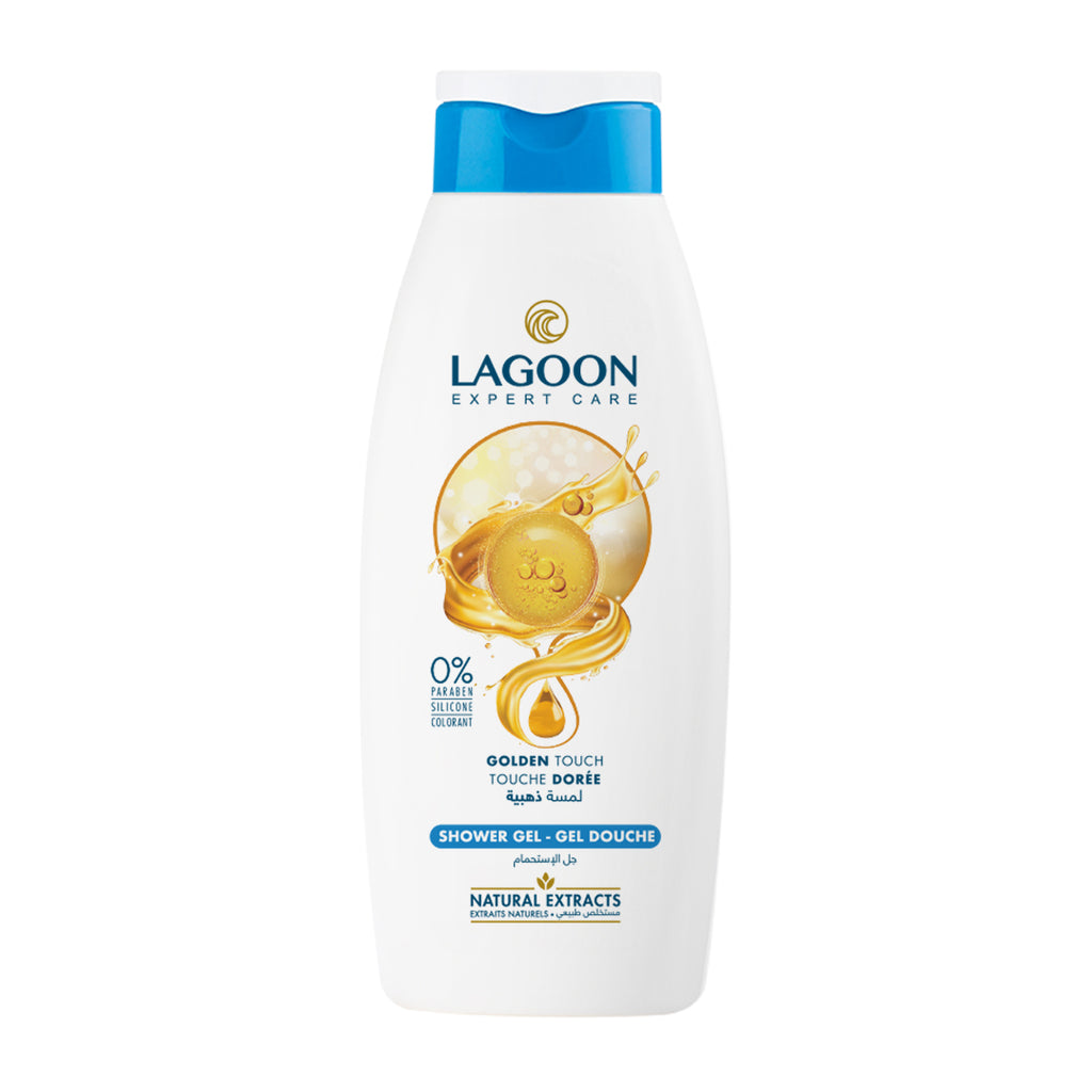 Lagoon Shower Gel with Natural Extracts - Golden Touch