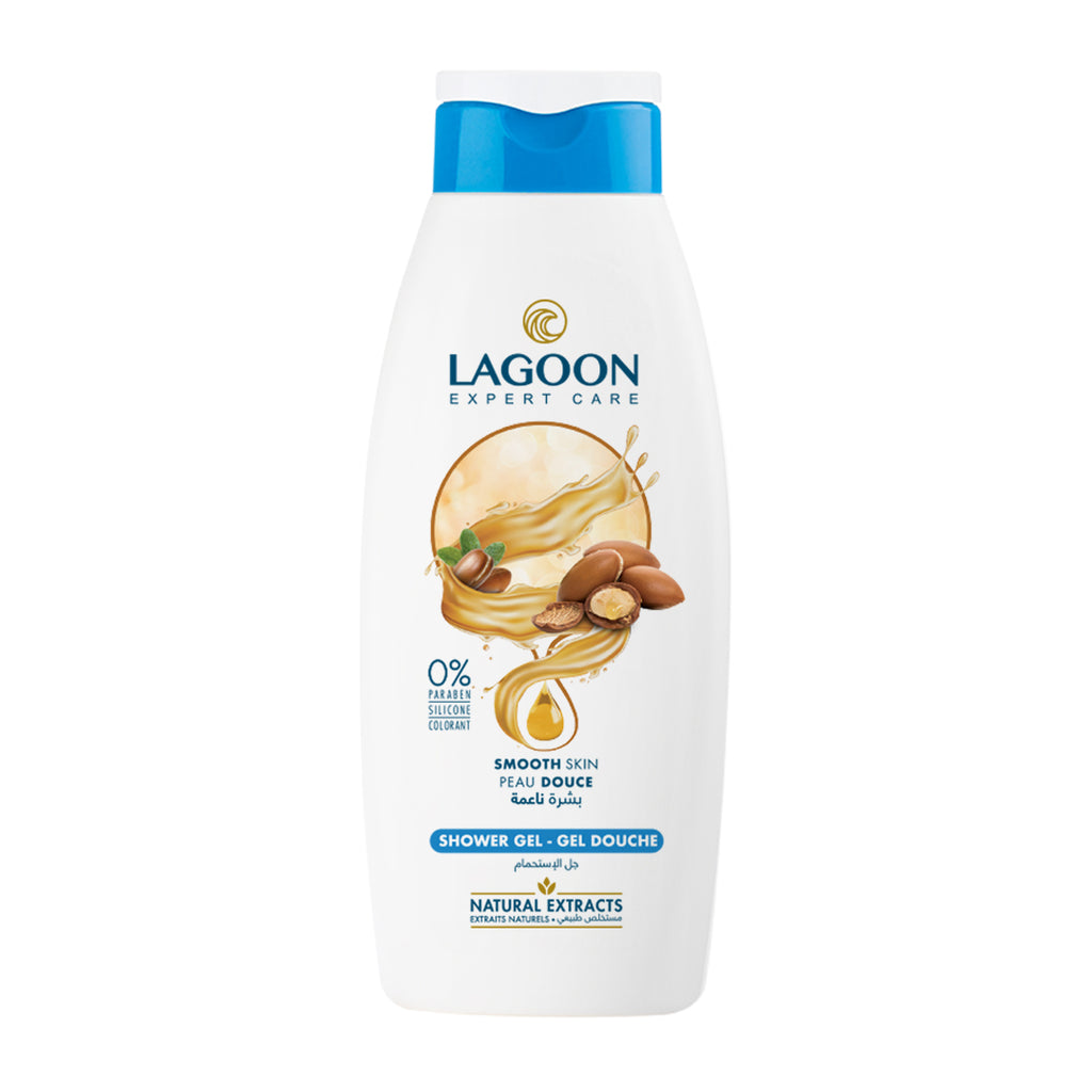 Lagoon Shower Gel with Natural Extracts - Smooth Skin