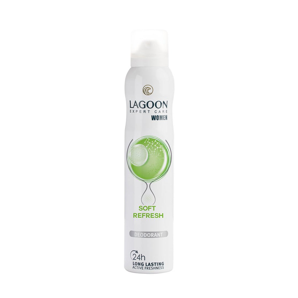 Lagoon 24HR Active Freshness Deo Spray for Women 200ml - Soft Refresh