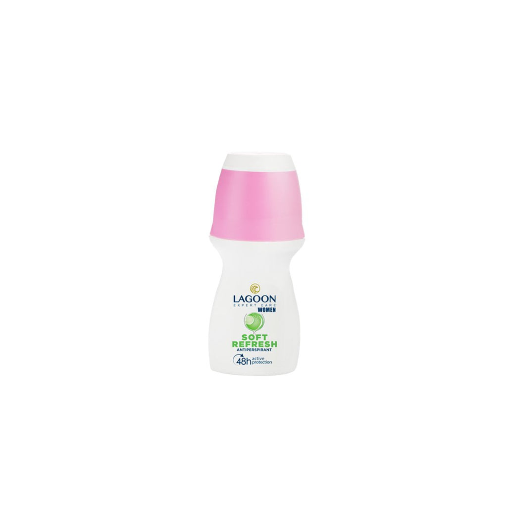 Lagoon Roll-On 48H Anti-Perspirant for Women 50ml - Soft Refresh