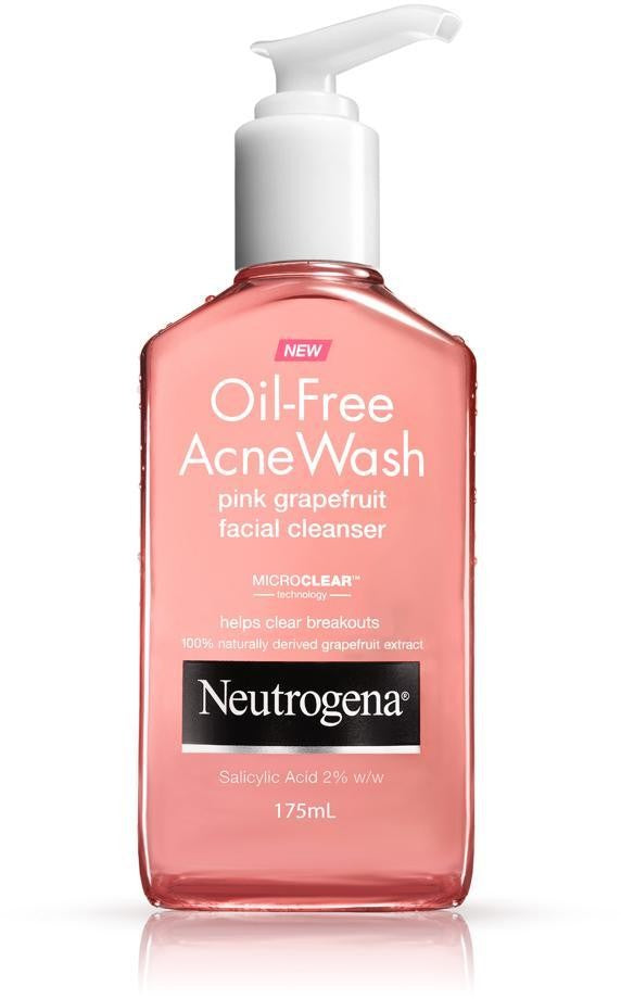 Neutrogena, Oil Free Acne Grapefruit Cleanser 200Ml