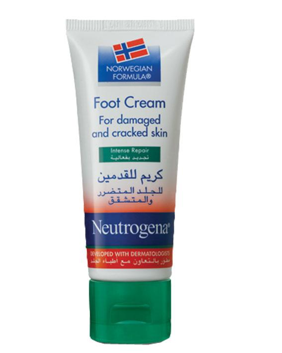 Neutrogena Norwegian Formula Foot Cream Damaged Cracked 40ml