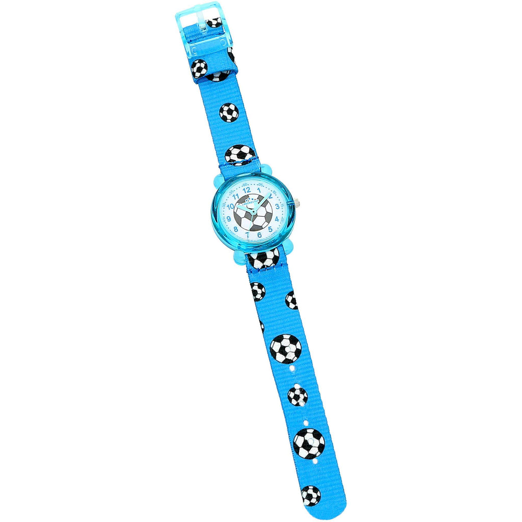Chronostar Acquerello Blue & Football Dial/Strap Watch R3751266001