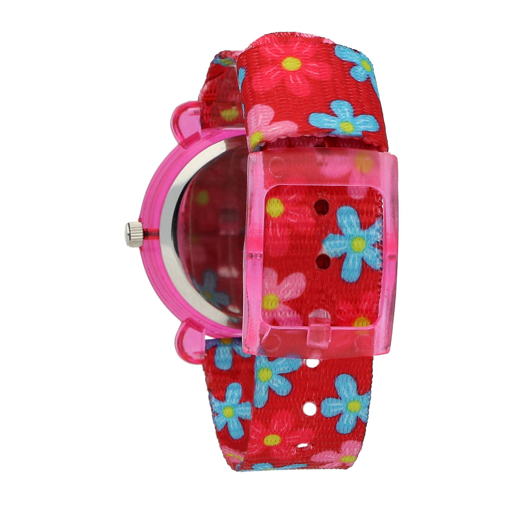 Chronostar Acquerello Pink & Flower Dial/Strap Watch R3751266502