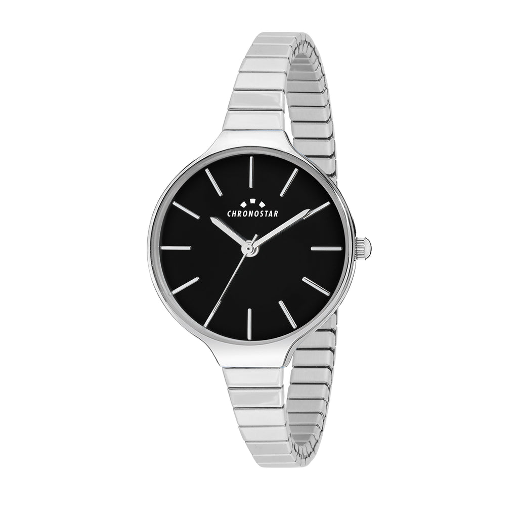 Chronostar Toffee Black Dial Watch R3753248502