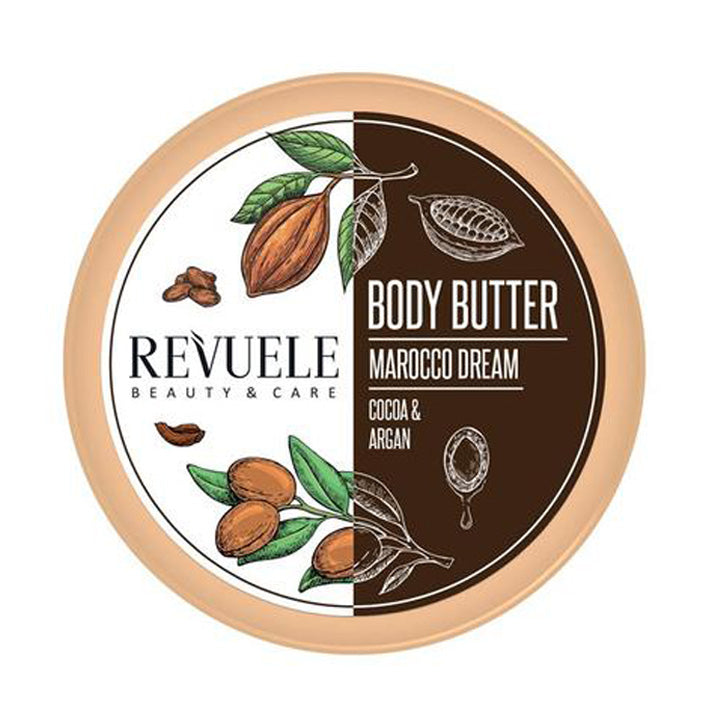 Revuele Body Butter Morocco Dream Argan & Cocoa 200Ml