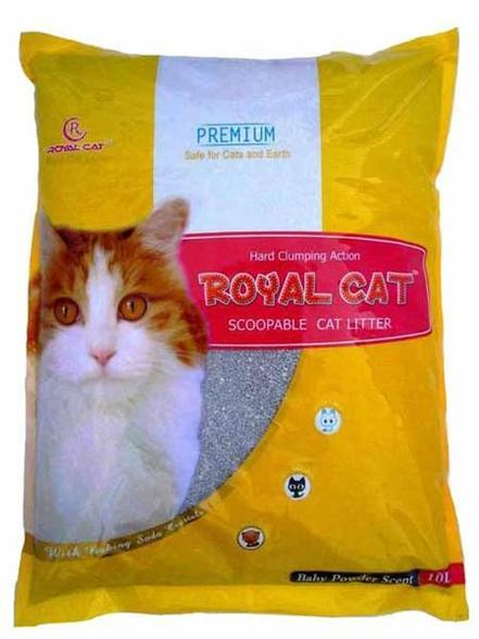 Royal Cat Baby Powder Scent Cat Litter